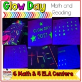 GLOW DAY Room Transformation K-1 End of the Year Activities