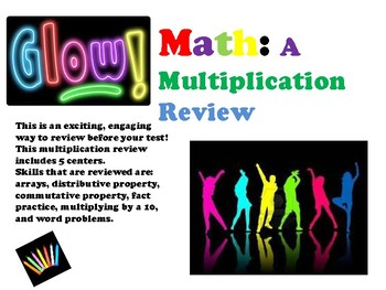 GLOW! Math: A Multiplication Review
