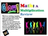 GLOW Math! Bundle!  Multiplication, Division, & Fractions!