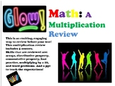 GLOW Math! Bundle!  Multiplication, Division, & Fractions!