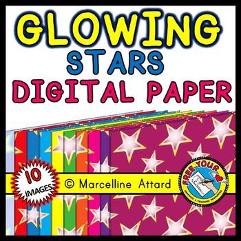 FREE CLIPART: STARS BACKGROUNDS: STARS DIGITAL PAPERS: STARS CLIPART BACKGROUNDS