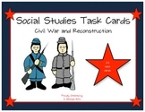 GA Milestones Civil War and Reconstruction Task Cards