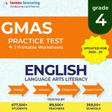 Online GMAS Practice test, Printable Worksheets, Grade 4 E