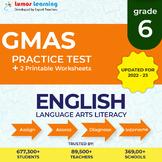 Online GMAS Practice test, Printable Worksheets, Grade 6 ELA - GMAS Test Prep