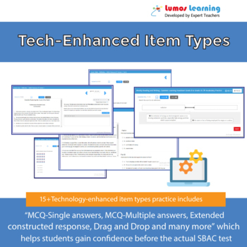 GMAS Practice Test, Worksheets and Remedial Resources - 7th Grade ELA Test Prep