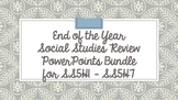 5th Grade Social Studies Review PPT BUNDLE
