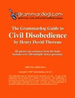 Grammardog Guide to Civil Disobedience