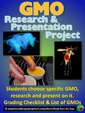 GMO Project:  Students Research a GMO & Present on it - NGSS