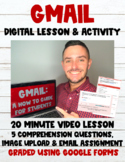 GMail:  A How to Guide for Students Digital Lesson + Googl