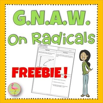 GNAW on Radicals Freebie