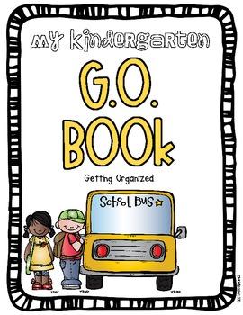 G.O. Book (Getting Organized) An organizational binder