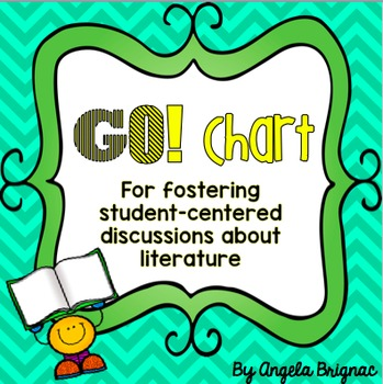 GO! Chart for Reading Comprehension: Posters for Student-C