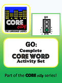 GO: Complete Core Word Activity Set