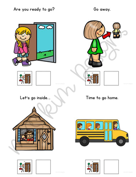 GO Core Vocabulary Bundle for Special Education Teachers