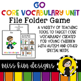 GO Core Vocabulary Unit for Special Education Teachers