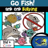 GO FISH! End Bullying! 20 Pc. Clip-Art Set!