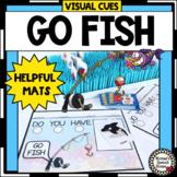 GO FISH VISUAL CUE MATS Speech Therapy AUTISM NO PREP