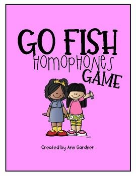 GO Fish Game - Homophones
