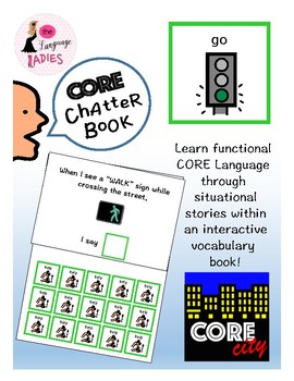 GO: Interactive CORE City Chatter Book