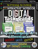 GO Interactive Language Arts Differentiation Digital Task