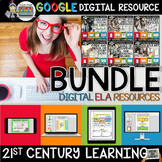 ELA BUNDLE FOR GOOGLE DRIVE PAPERLESS ACTIVITIES AND DIGITAL NOTEBOOKS