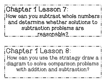 GO MATH! 4th Grade Chapter 1 Essential Question Posters