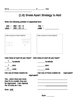 GO MATH CH. 1 Worksheets
