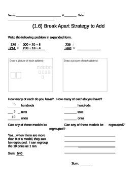 GO MATH CH. 1 Worksheets
