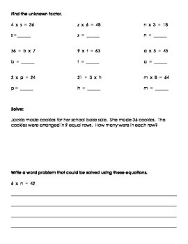GO MATH CH 5 Supplimental Worksheets