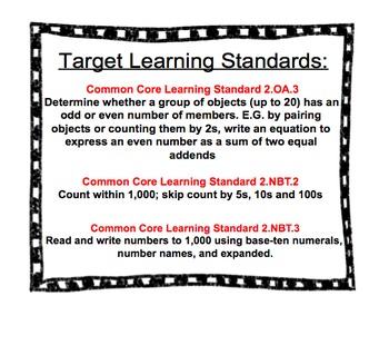 GO MATH CHAPTER 1 Essential Question and CCLS