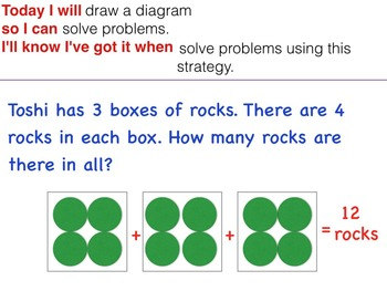 GO MATH Chapter 3 Powerpoint Slides for RTI Grade 3