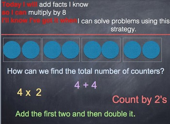 GO MATH Chapter 4 PowerPoint Slides for RTI Grade 3
