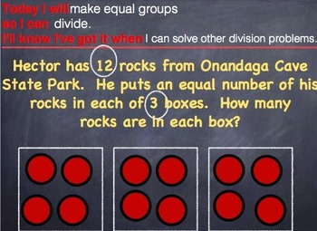 GO MATH Chapter 6 PowerPoint Slides for RTI Grade 3