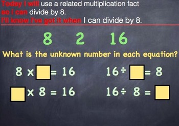 GO MATH Chapter 7 PowerPoint Slides for RTI Grade 3