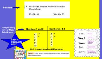 GO MATH GRADE 5- UNIT 1 LESSONS 1.10 AND 1.11