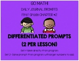 First Grade-GO MATH! Journal Chapter 2