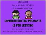 First Grade-GO MATH! Journal Chapter 2