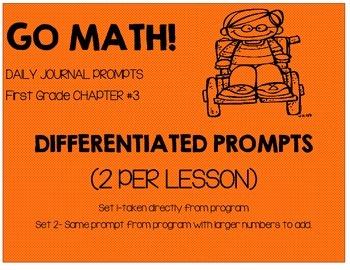 GO MATH! Journal Chapter 3