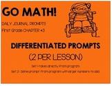 First Grade-GO MATH! Chapter 3 Journals
