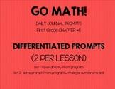 First Grade-GO MATH!  Chapter 6 Journals