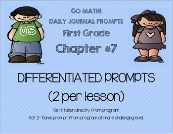 GO MATH! Journal Chapter 8