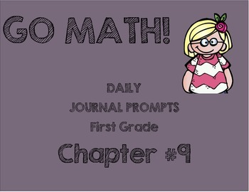 GO MATH! Journal Chapter 9