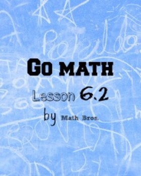 GO MATH Lesson Plans Unit 6 Grade 5