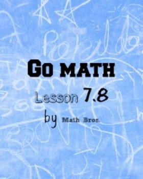 GO MATH Lesson Plans Unit 7 Grade 5