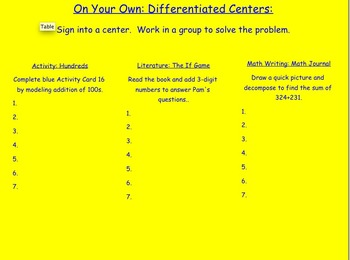 GO MATH UNIT 6 INTERACTIVE SMARTBOARD LESSONS
