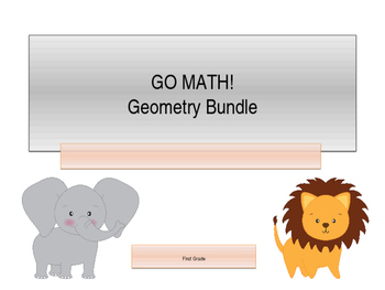 GO Math! 1.G Bundle