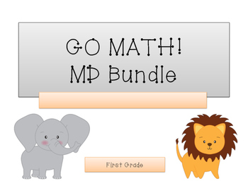 GO Math! 1.MD Bundle