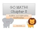 GO Math! 1st Grade Chapter 5 Activities (Addition and Subt