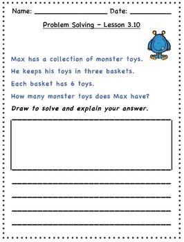 GO Math - 2nd Grade, Chapter 3 - Problem Solving / Journal