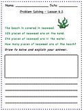 GO Math - 2nd Grade, Chapter 6 - Problem Solving / Journal Writing & Exit Slips